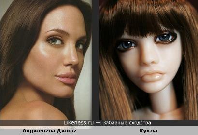 Анджелина Джоли и Кукла