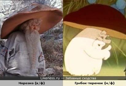 Морозко (х/ф) и Грибок-теремок (м/ф)