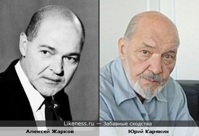 Алексей Жарков и Юрий Карякин