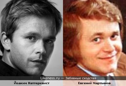 Йоаким Наттерквист и Евгений Мартынов