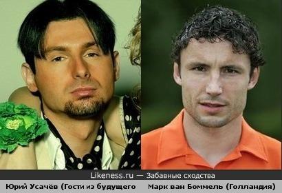 Юрий Усачёв похож на Марк ван Боммеля