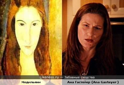 Ана Гастейер вдохновляла Модильяни