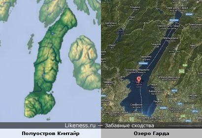 Юмопост: Полуостров похож на Озеро