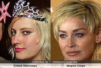 Моя знакомая похожая на Шерон Стоун (вовака.ру)