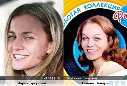 Моя знакомая похожая на Галину Невару (вовака.ру)