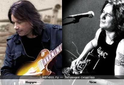 John Norum и Сергей Чиграков (Чиж & Co)