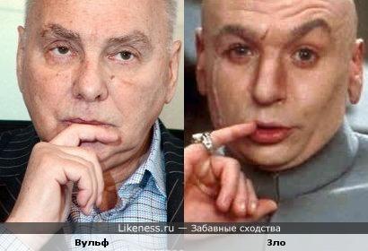 Виталий Вульф и Доктор Зло (Dr. Evil)
