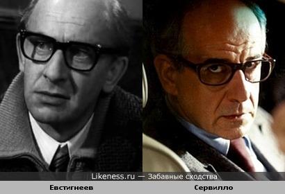 Евгений Евстигнеев и Тони Сервилло (Toni Servillo)