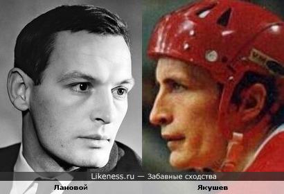 Василий Лановой и Александр Якушев