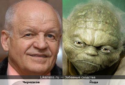 Политик Виктор Черепков и джедай Йода
