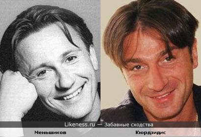 Актеры Олег Меньшиков и Эвклид Кюрдзидис