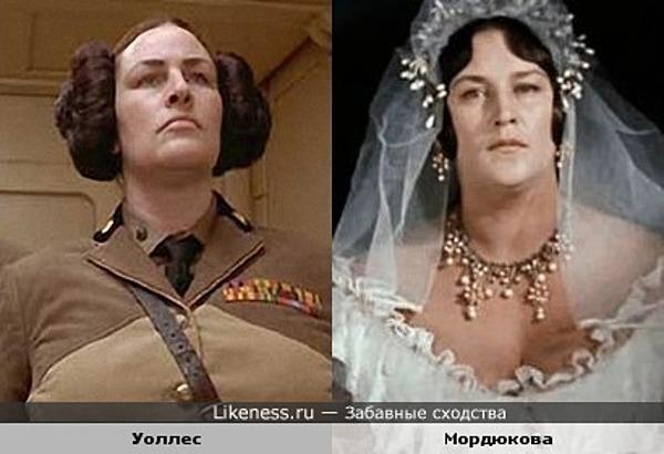 Актрисы Джули Т. Уоллес (Julie T. Wallace) и Нонна Мордюкова