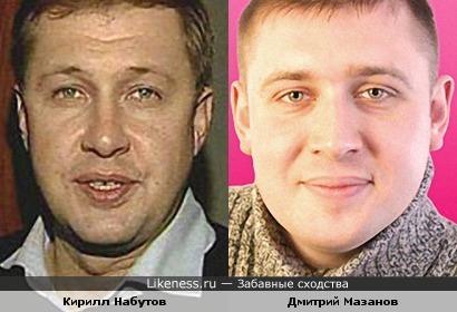 """Кирилл Набутов и Дмитрий Мазанов (экс-участник телепроекта """"Дом-2"""")"""