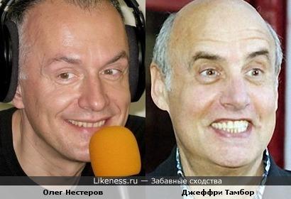 Олег Нестеров (музыкант) и Джеффри Тамбор (актер)