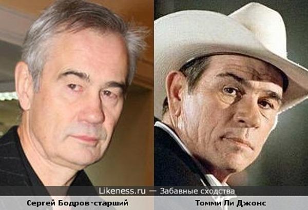 Сергей Бодров-старший и Томми Ли Джонс