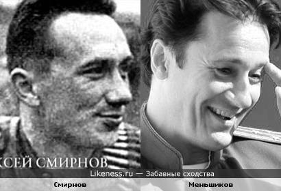 Актеры Алексей Смирнов и Олег Меньшиков