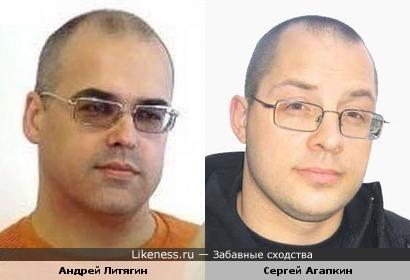 Андрей Литягин ( композитор и продюсер группы «Мираж») и Сергей Агапкин (врач, ведущий программы «О самом главном»)