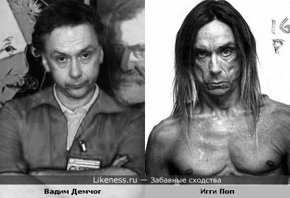 Вадим Демчог и Iggy Pop