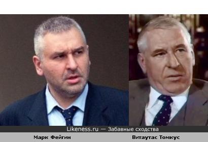 Адвокат Марк Фейгин актеру Витаутасу Томкусу в сыновья годится