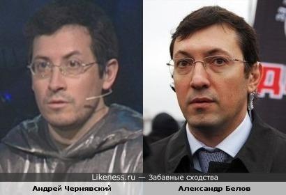 Участник «Своей игры» Андрей Чернявский похож на экс-лидера ДПНИ Александра Белова
