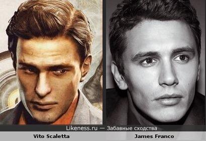 Вито Скалетта похож на Джеймса Франко