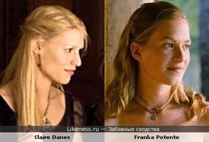 Клер Дэйнс и Франка Потенте могли бы сыграть сестёр