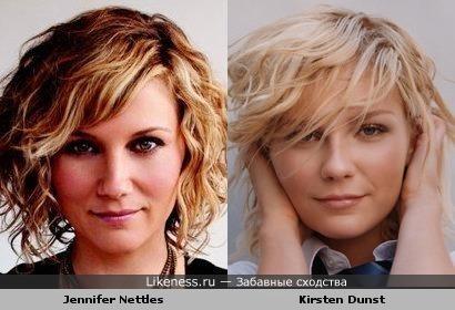 Jennifer Nettles и Kirsten Dunst