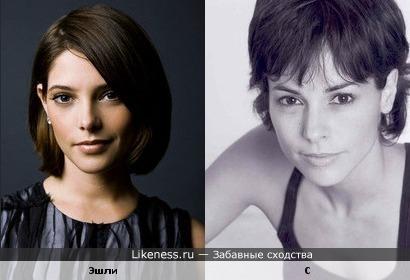 """Эшли Грин из фильма """"Сумерки"""" похожа на Стефани Зостак из фильма """"Дьявол носит Prada"""""""