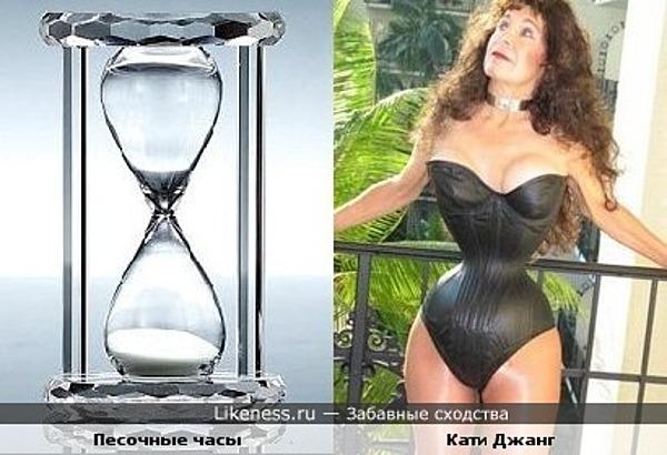 Фигура Кэти Джанг слишком похожа на песочные часы