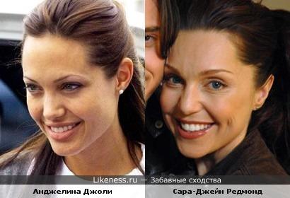 Сара-Джейн Редмонд - это Анджелина Джоли через 10 лет