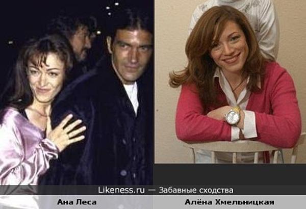 Первая жена Антонио Бандераса - Хмельницкая?