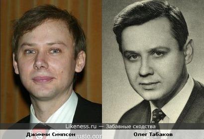 Джимми Симпсон напоминает молодого Олега Табакова