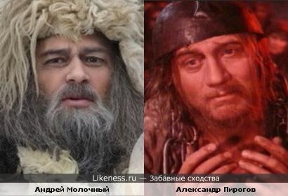 Андрей Молочный = Александр Пирогов