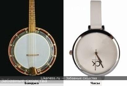 Банджо = Часы