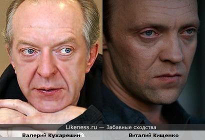 Виталий Кищенко и Валерий Кухарешин похожи