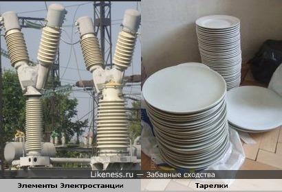 Элементы Электростанции и Тарелки