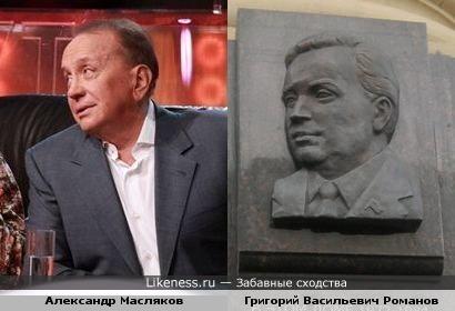 Александр Масляков и Григорий Романов