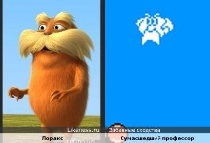 """Лоракс и Сумасшедший профессор из игры """"Кот Феликс"""""""