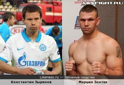 Константин Зырянов и Марцин Зонтек