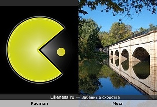 Pacman и мост
