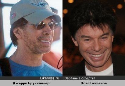 Олег Газманов становится похожим на Джерри Брукхаймера