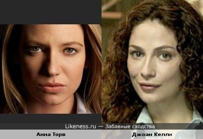 Анна Торв VS Джоан Келли