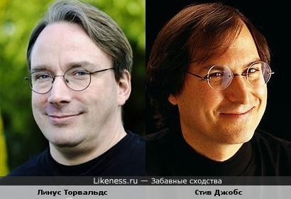 Линус Торвальдс VS Стив Джобс или Linux VS Mac OS
