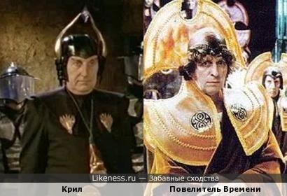 Крил (Легенда о Вильгельме Телле) VS Повелитель Времени (Доктор Кто)