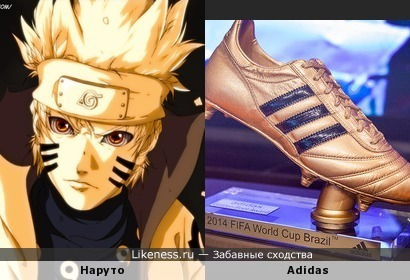 Наруто и Adidas