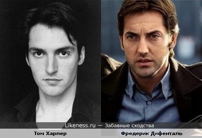 Том Харпер похож на молодого Ф.Дифенталя.