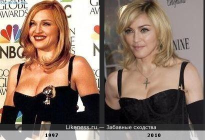 """Мадонна: """"Я этот прикид одева всего 1 раз, 100 лет назад, не выкидывать же! Одену еще раз"""""""