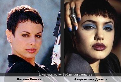 Натали Рейтано в VIP похожа на Джоли в Хакерах