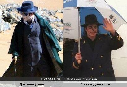 Джонни Депп на съемках нового фильма. В образе Майкла Джексона?