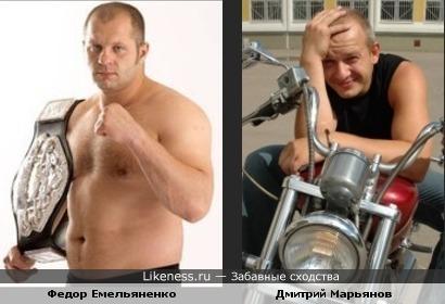 Федор Емельяненко vs Дмитрий Марьянов